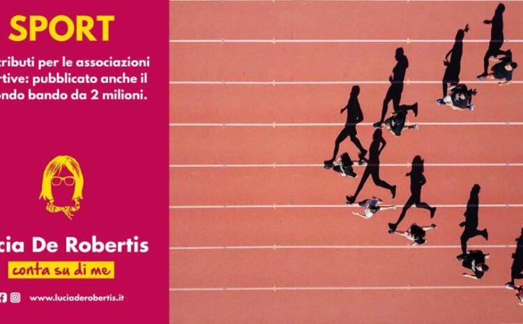 Ulteriore bando da 2 Milioni per le associazioni sportive